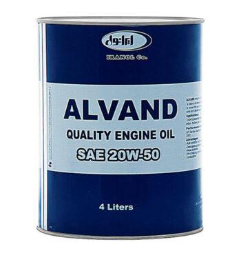 ايرانول الوند 20W50 (چهار لیتری)