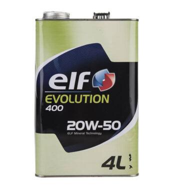 روغن موتور خودرو الف مدل Evolution 400 چهار لیتری 20W-50