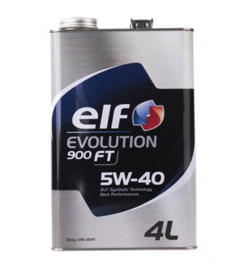 روغن موتور خودرو الف مدل Evolution 900 FT چهار لیتری 5W-40