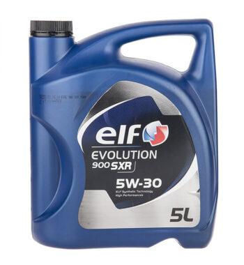 روغن موتور خودرو الف مدل Evolution 900 SXR چهار لیتری 5W-30