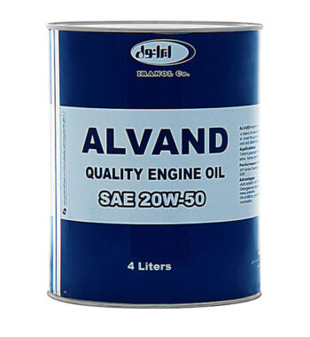 ایرانول الوند 20W50 (چهارلیتری)