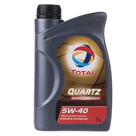 روغن موتور خودرو توتال مدل Quartz 9000 Energy یک لیتری 5W-40